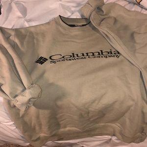 A Columbia Sportswear sweatshirt!